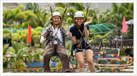 CONQUER OUR 500M ZIPLINE RIDE
